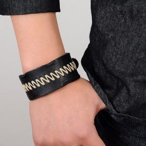 Rope Design Leather Bracelet5